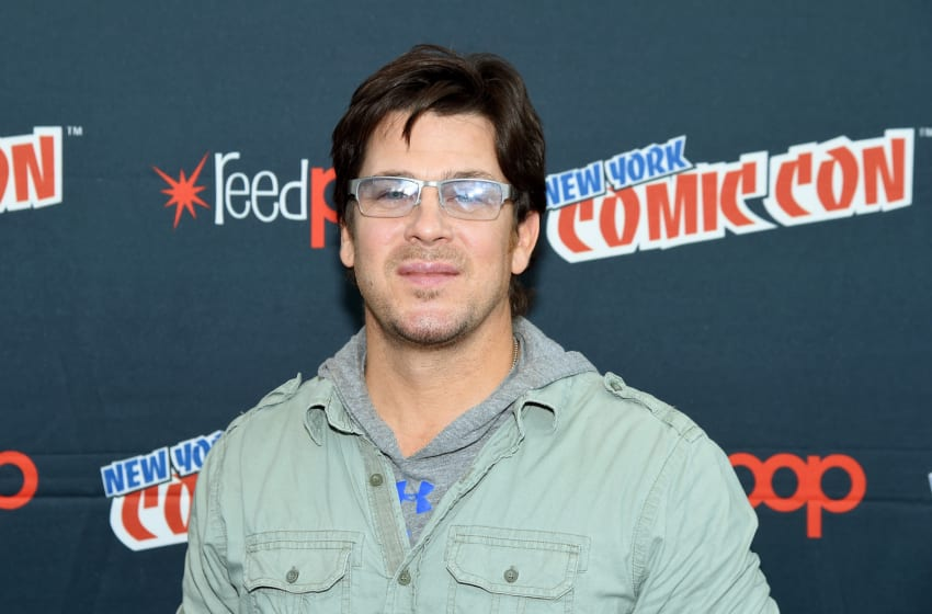 NEW YORK, NY - OCTOBER 05: Christian Kane attends The Librarians and Bad Samaritan with Dean Devlin Panel & Press Room at the 2017 New York Comic Con - Day 1 on October 5, 2017 in New York City. (Photo by Nicholas Hunt/Getty Images)