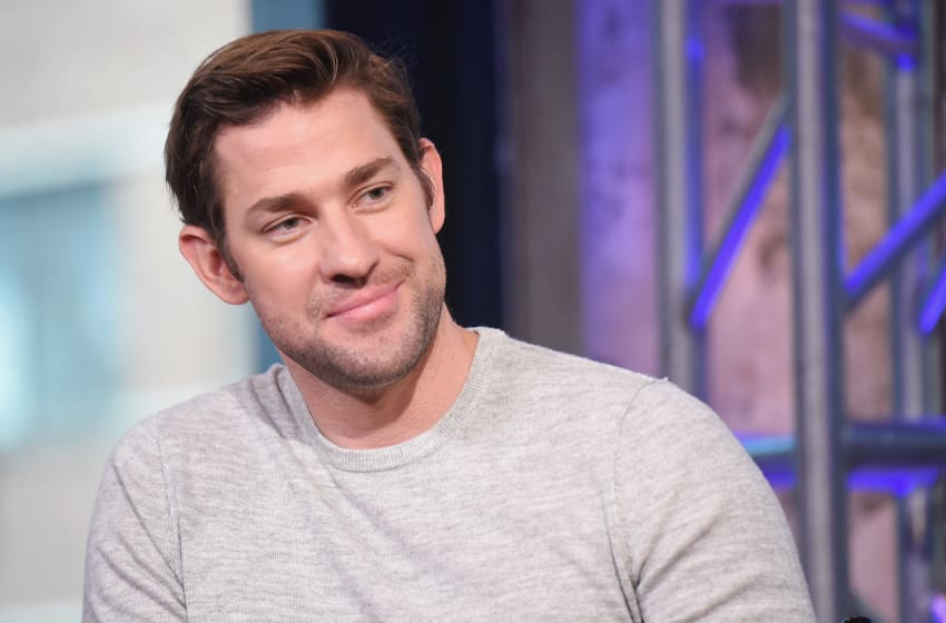 NEW YORK, NY - AUGUST 17: Actor and Director John Krasinski attends the AOL Build presentation of the cast of 'The Hollars' at AOL HQ on August 17, 2016 in New York City. (Photo by Michael Loccisano/Getty Images)