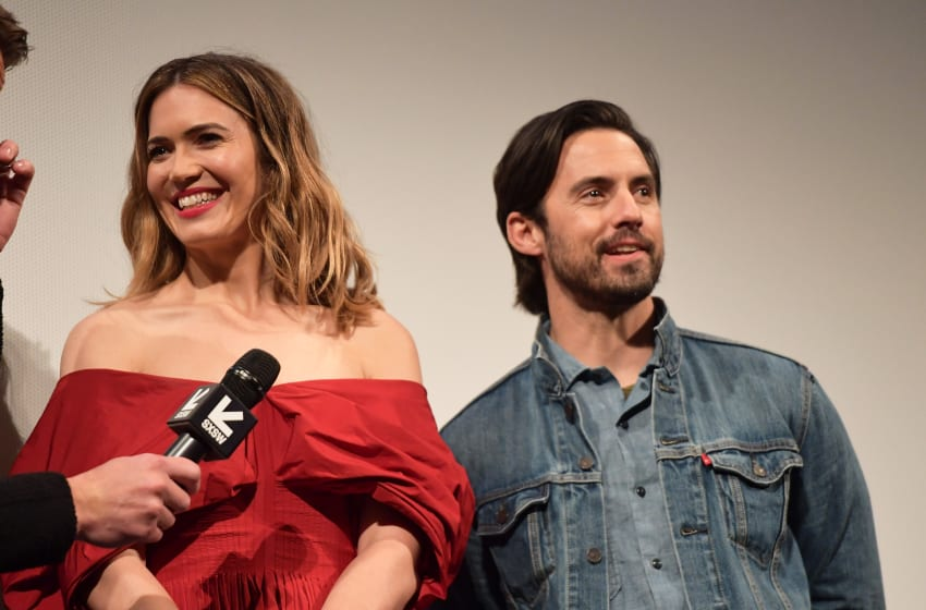 AUSTIN, TX - MARCH 12: Mandy Moore and Milo Ventimiglia attend the 'This is Us' Premiere 2018 SXSW Conference and Festivals at Paramount Theatre on March 12, 2018 in Austin, Texas. (Photo by Matt Winkelmeyer/Getty Images for SXSW)