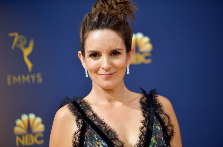 LOS ANGELES, CA - SEPTEMBER 17: Tina Fey attends the 70th Emmy Awards at Microsoft Theater on September 17, 2018 in Los Angeles, California. (Photo by Matt Winkelmeyer/Getty Images)
