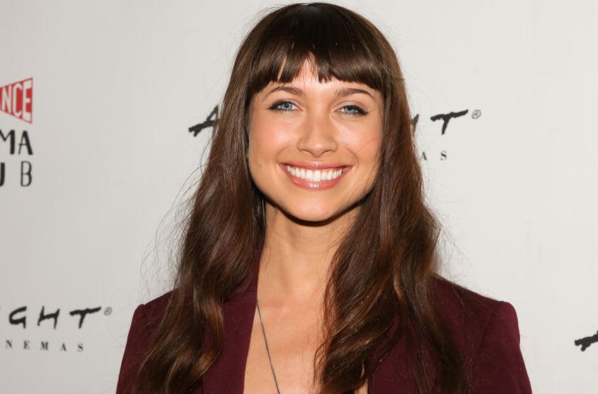 HOLLYWOOD, CALIFORNIA - OCTOBER 07: Actress Maiara Walsh attends the special screening of