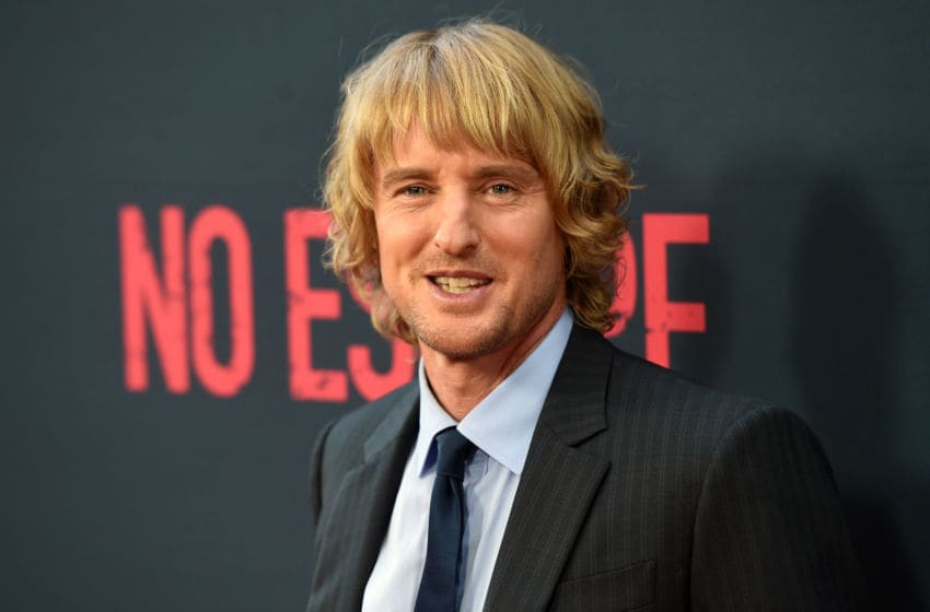 LOS ANGELES, CA - AUGUST 17: Actor Owen Wilson attends the premiere of the Weinstein Company's