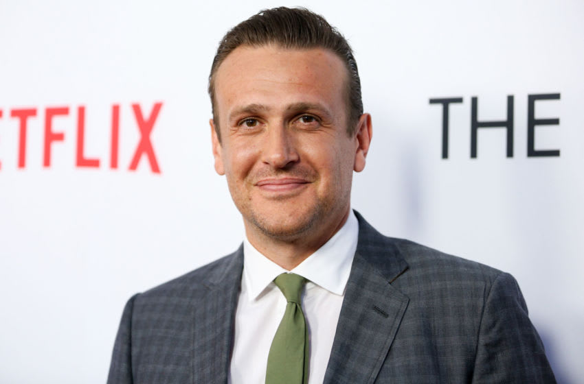 LOS ANGELES, CA - MARCH 29: Actor Jason Segel arrives at the premiere of Netflix's