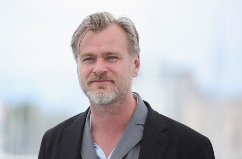 CANNES, FRANCE - MAY 12: Director Christopher Nolan attends the Rendezvous With Christopher Nolan photocall during the 71st annual Cannes Film Festival at Palais des Festivals on May 12, 2018 in Cannes, France. (Photo by Andreas Rentz/Getty Images)