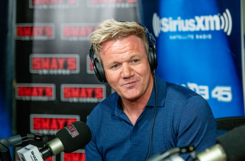 NEW YORK, NY - SEPTEMBER 25: Gordon Ramsay visits Sway In the Morning on Shade 45 at SiriusXM Studios on September 25, 2018 in New York City. (Photo by Roy Rochlin/Getty Images)