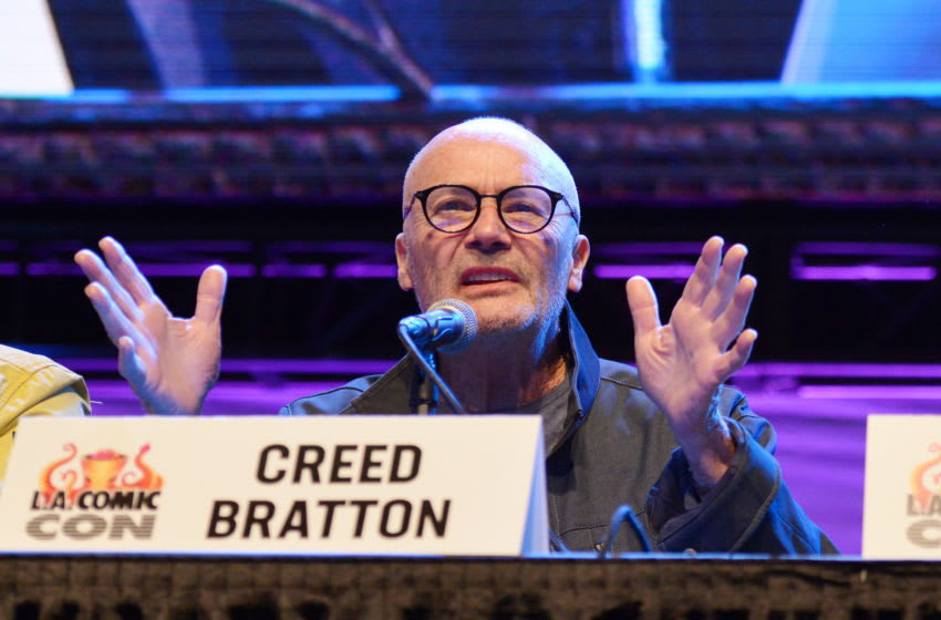LOS ANGELES, CALIFORNIA - OCTOBER 12: Creed Bratton speaks onstage at