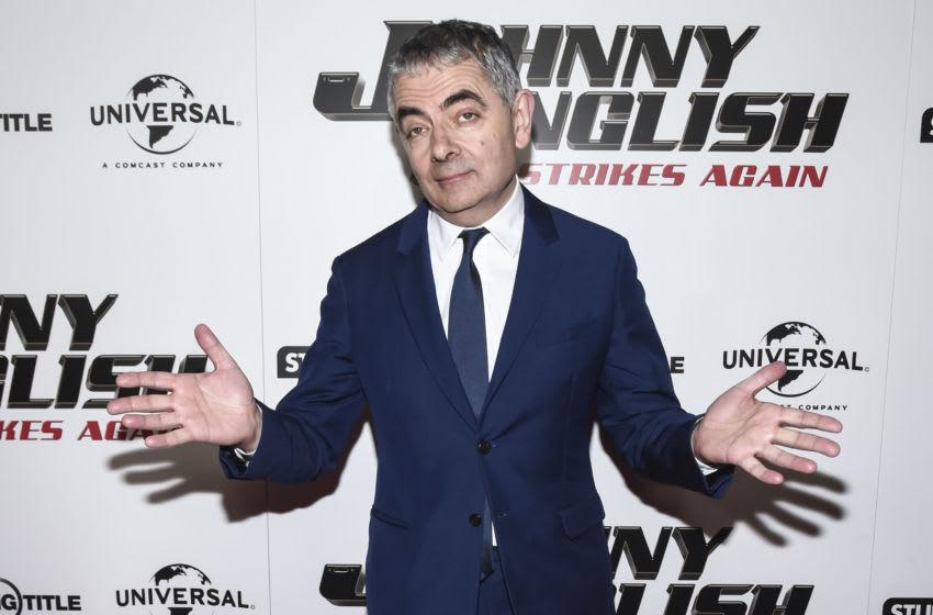 NEW YORK, NY - OCTOBER 23: Actor Rowan Atkinson attends the