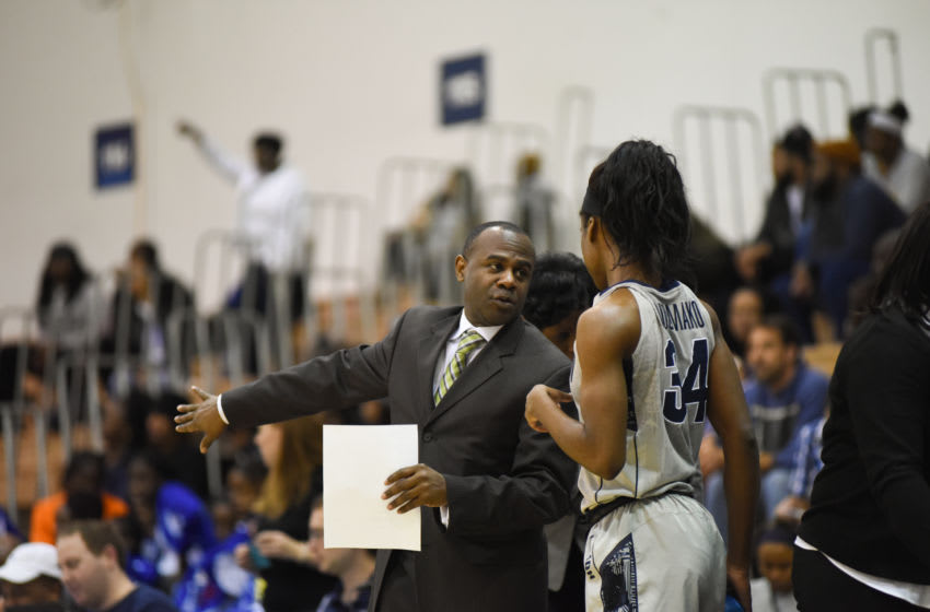 Women's Basketball vs Seton Hall James Howard. (Georgetown Sports Information)