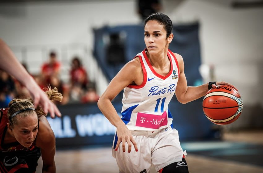 Playing in the World Cup is a joy for Michelle Gonzalez and Puerto Rico after what they went through. Photo courtesy of FIBA.