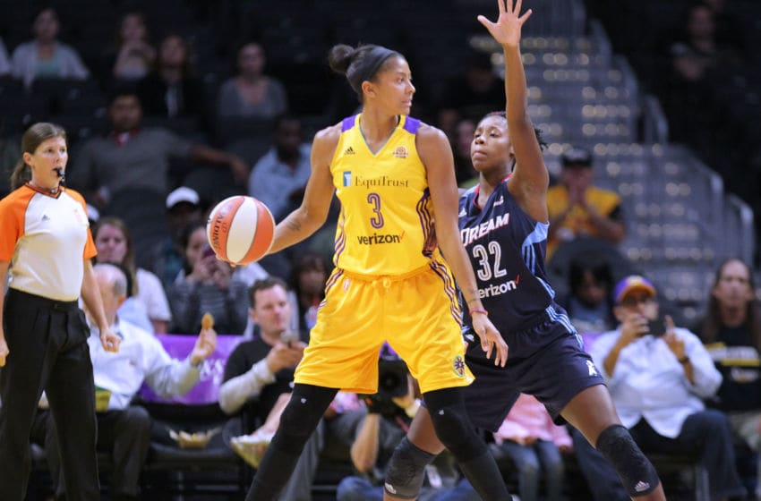 LOS ANGELES, CA - SEPTEMBER 08: Candace Parker