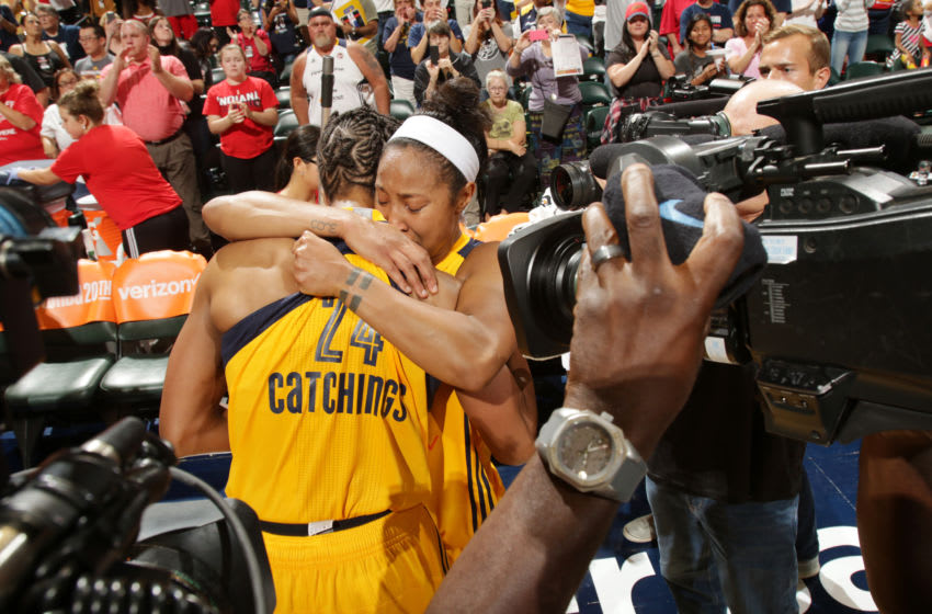 INDIANAPOLIS, IN - SEPTEMBER 21: Tamika Catchings