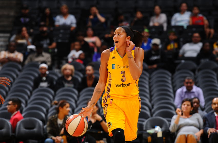 LOS ANGELES, CA - SEPTEMBER 30: Candace Parker