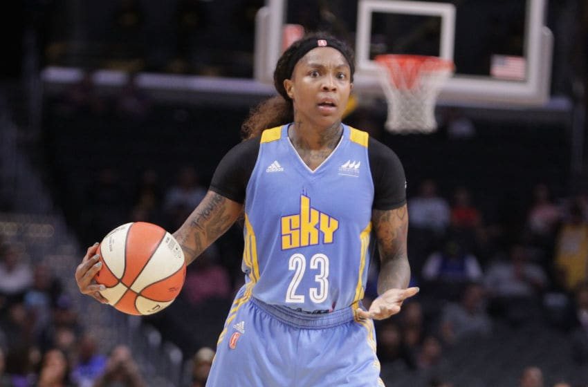 LOS ANGELES, CA - SEPTEMBER 30: Cappie Pondexter