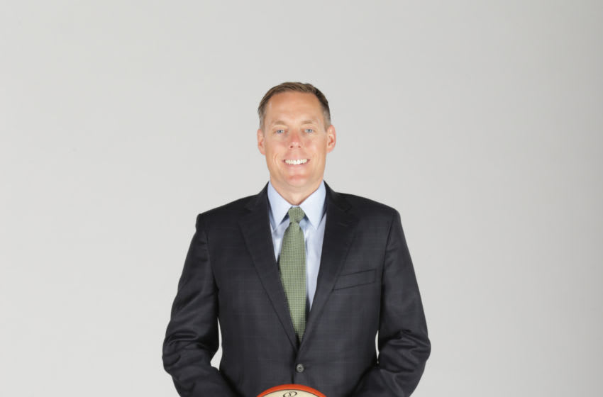 ARLINGTON, TX - MAY 2: General Manager Greg Bibb of the WNBA Dallas Wings poses for portraits on May 2, 2017 at College Park Center in Arlington, Texas. NOTE TO USER: User expressly acknowledges and agrees that, by downloading and or using this Photograph, user is consenting to the terms and conditions of the Getty Images License Agreement. Mandatory Copyright Notice: Copyright 2017 NBAE (Photo by Layne Murdoch/NBAE via Getty Images)