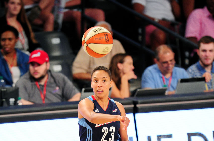 ATLANTA, GA - JULY 25: Layshia Clarendon