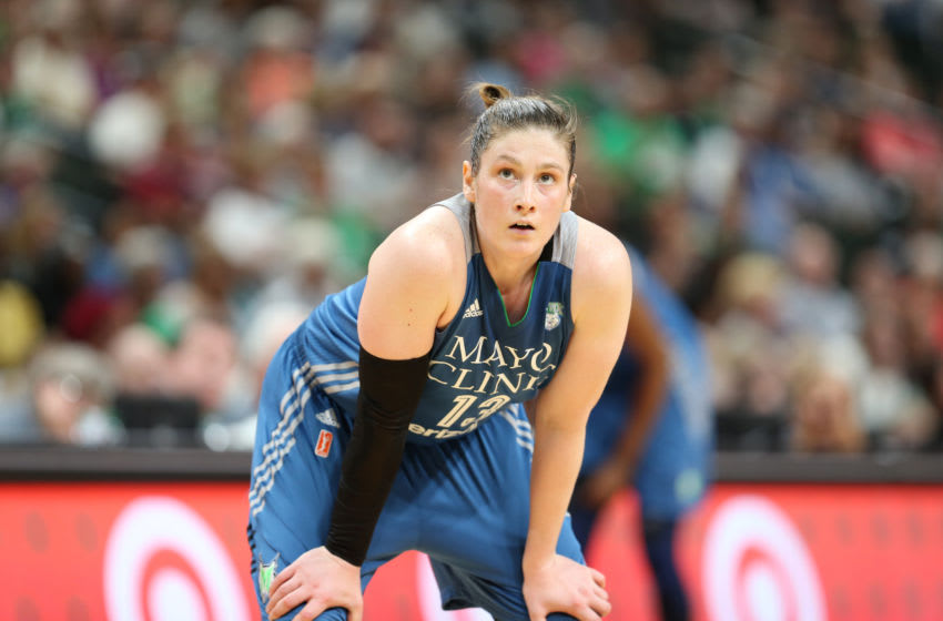 ST PAUL, MN - MAY 14: Lindsay Whalen