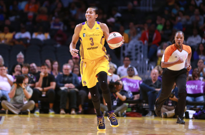 LOS ANGELES, CA - JULY 13: Candace Parker