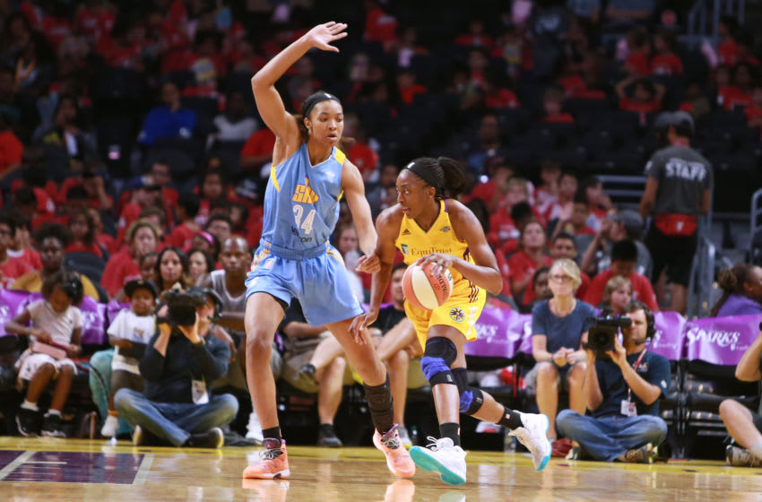 LOS ANGELES, CA - JULY 20: Nneka Ogwumike