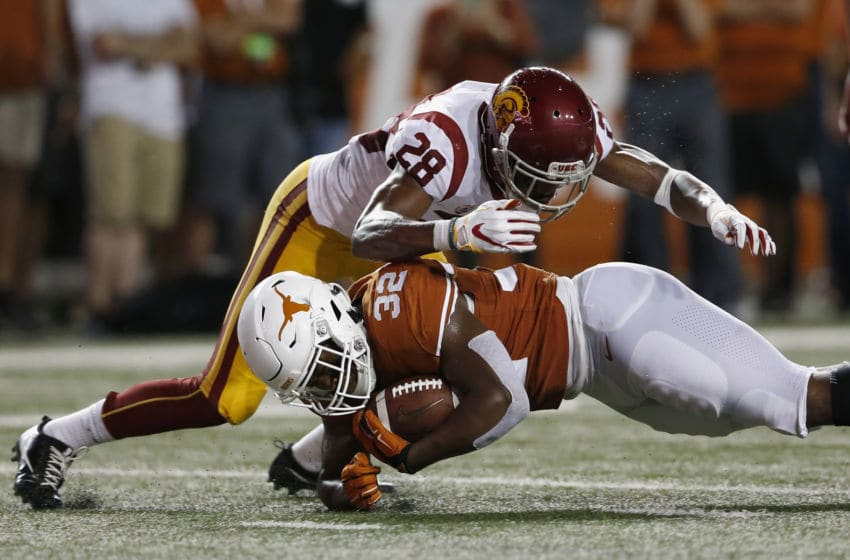 Daniel Young, Texas Football (Photo by Tim Warner/Getty Images)