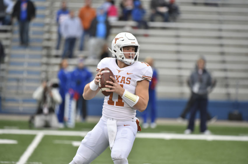 Sam Ehlinger, Texas Football (Photo by Ed Zurga/Getty Images)