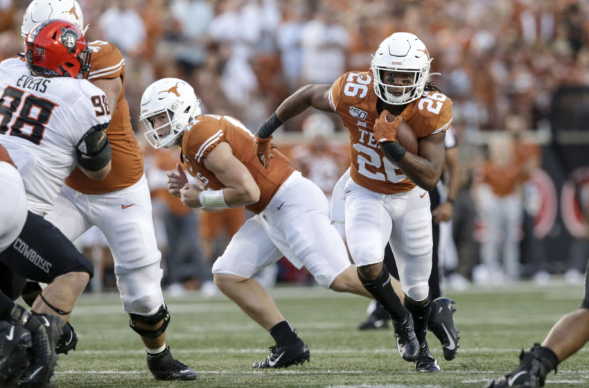 Keaontay Ingram, Texas Football (Photo by Tim Warner/Getty Images)