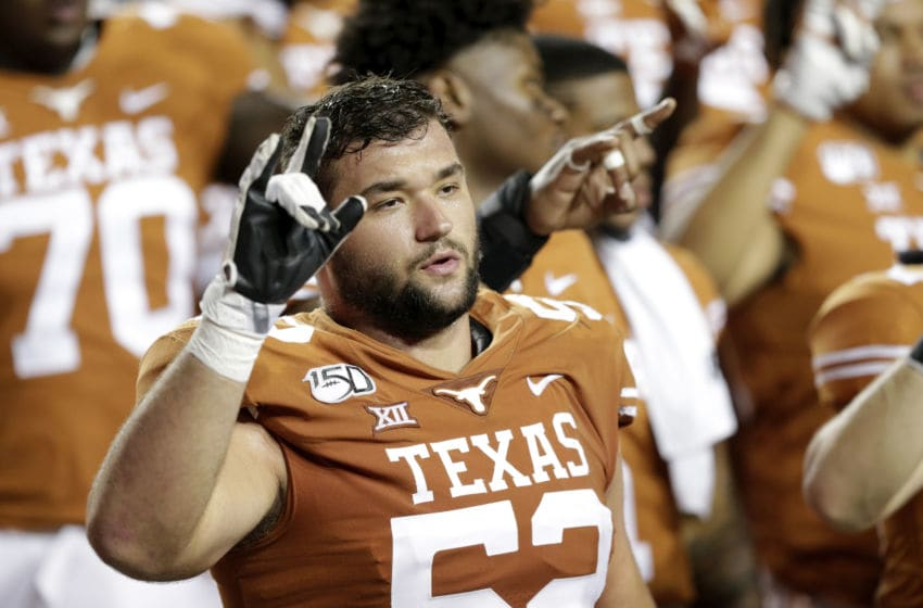 Samuel Cosmi, Texas Football (Photo by Tim Warner/Getty Images)