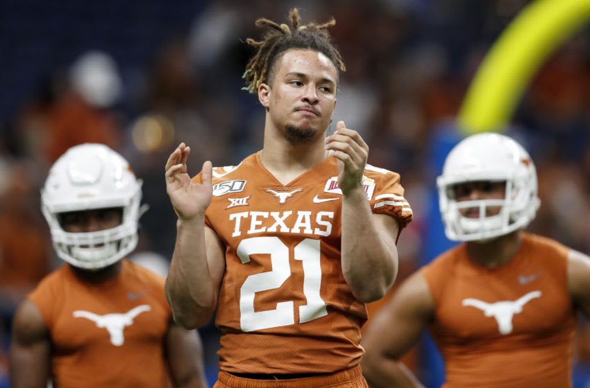 Jordan Whittington, Texas Football (Photo by Tim Warner/Getty Images)