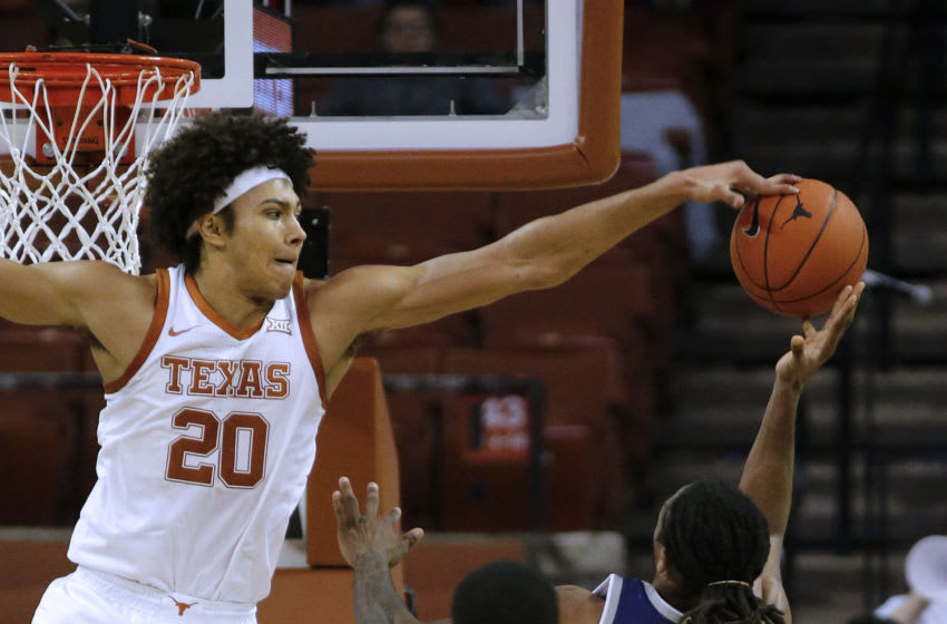 Jericho Sims, Texas Basketball (Photo by Chris Covatta/Getty Images)