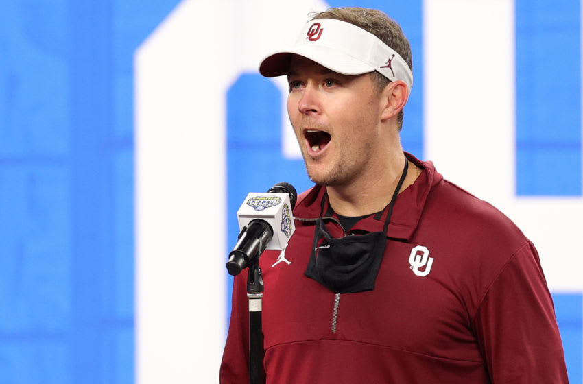 Lincoln Riley, Big 12 Football (Photo by Carmen Mandato/Getty Images)