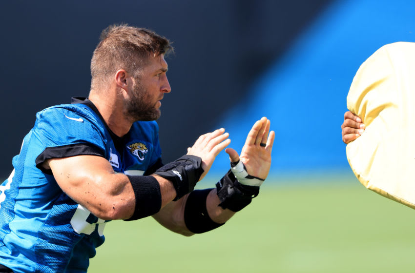 Tim Tebow (Photo by Sam Greenwood/Getty Images)