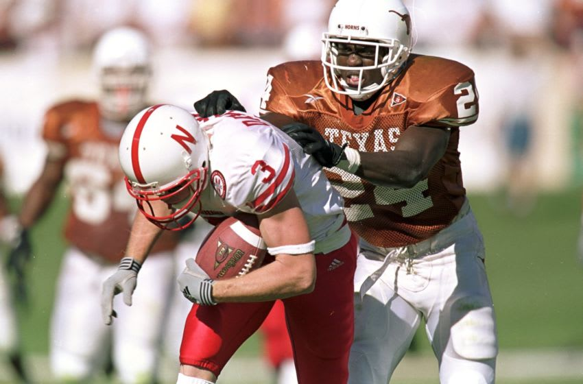 Texas Football Mandatory Credit: Brian Bahr /Allsport