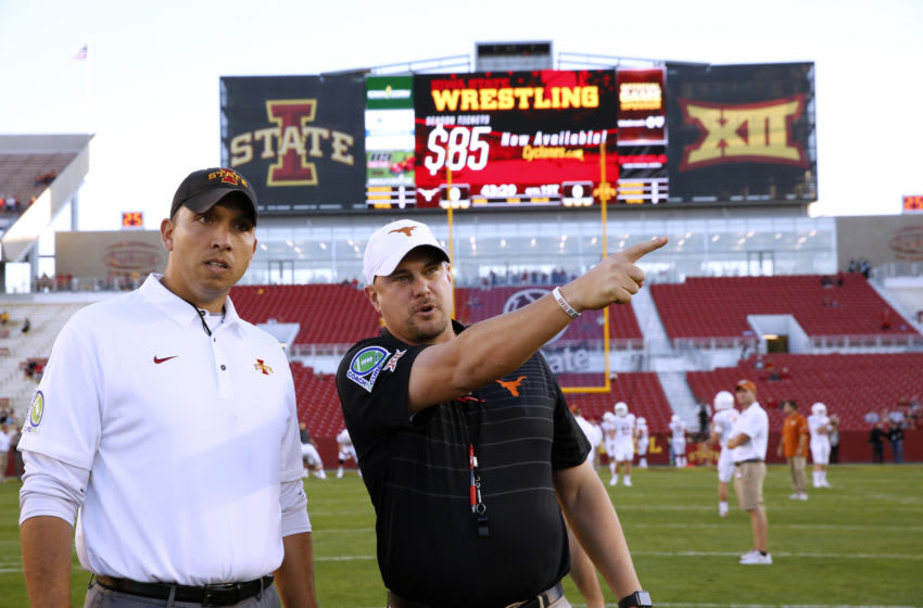 Matt Campbell, Tom Herman, Texas Football (Photo by David K Purdy/Getty Images)
