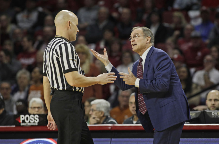Lon Kruger, Texas Basketball (Photo by Brett Deering/Getty Images)