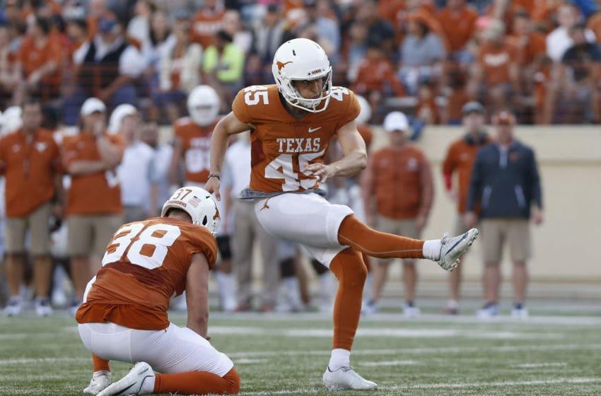 Chris Naggar, Texas Football (Photo by Tim Warner/Getty Images)