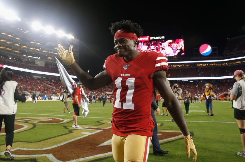 Marquise Goodwin (Photo by Lachlan Cunningham/Getty Images)