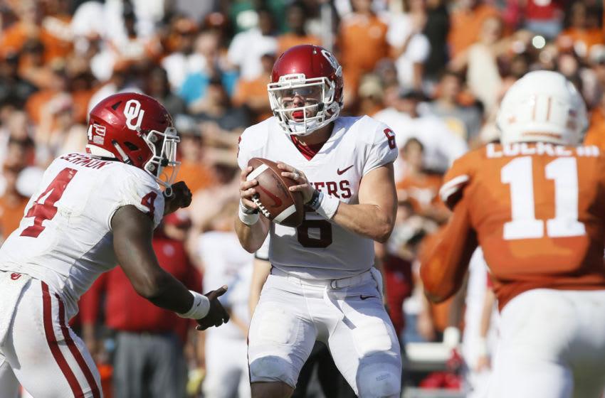 Baker Mayfield, Texas Football Mandatory Credit: Tim Heitman-USA TODAY Sports