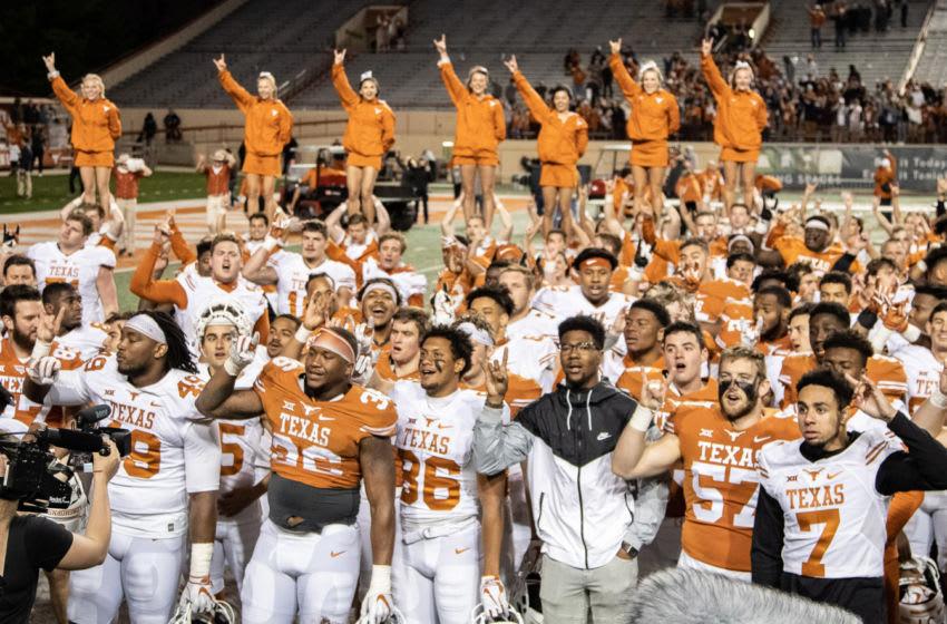 The Eyes of Texas, Texas Football Mandatory Credit: John Gutierrez-USA TODAY Sports
