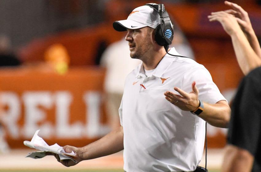 Tom Herman, Texas Football Mandatory Credit: Scott Wachter-USA TODAY Sports