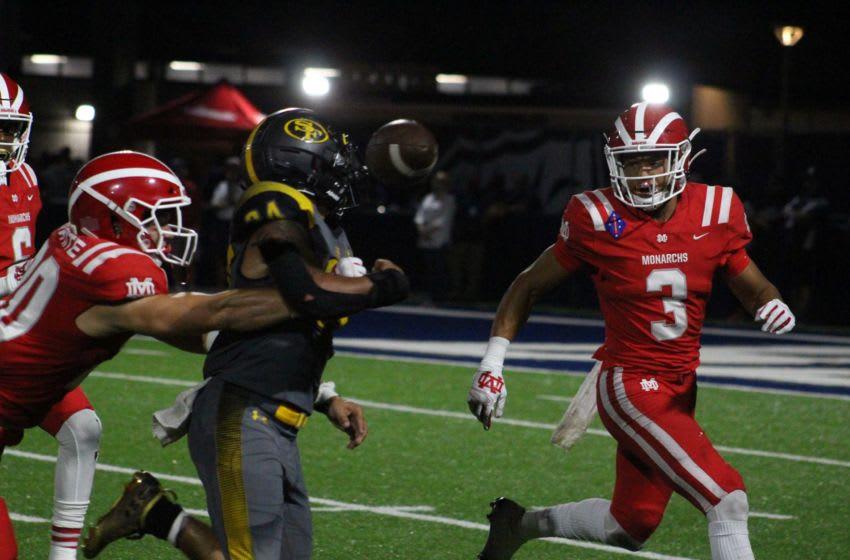Domani Jackson (Photo: Logan Newman/USA TODAY High School Sports) New Mater Dei cornerbacks Jaylin Davies, Domani Jackson lead strong defense