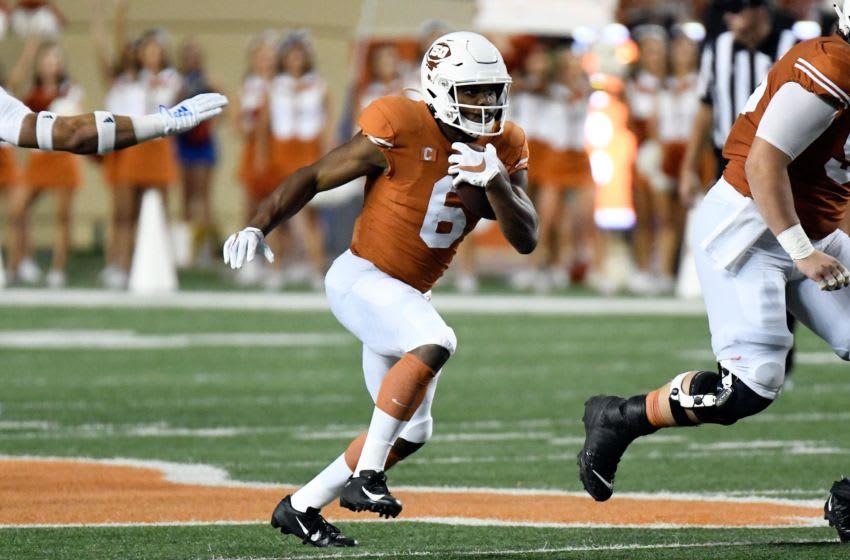 Devin Duvernay, Texas Football Mandatory Credit: Scott Wachter-USA TODAY Sports