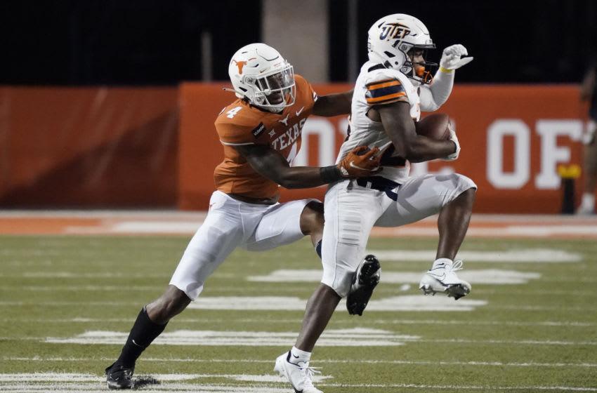 Xavion Alford, Texas Football Mandatory Credit: Scott Wachter-USA TODAY Sports
