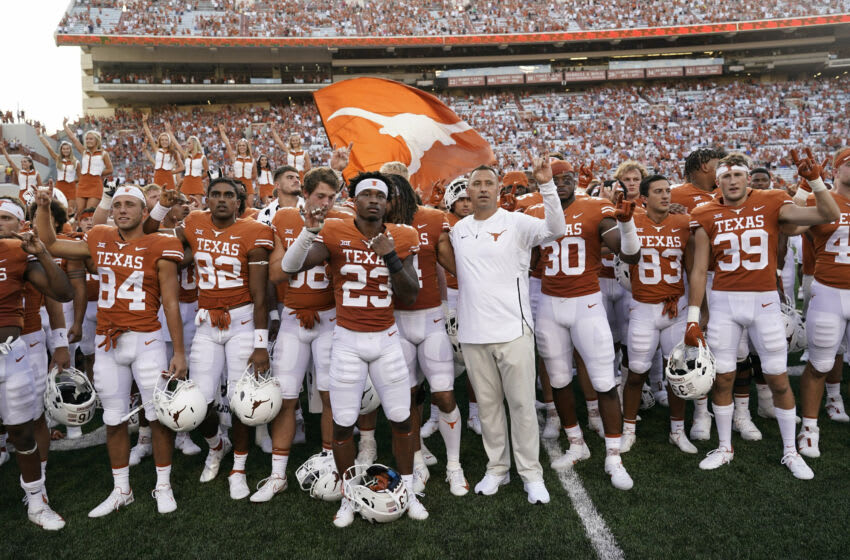 Texas Football Mandatory Credit: Scott Wachter-USA TODAY Sports