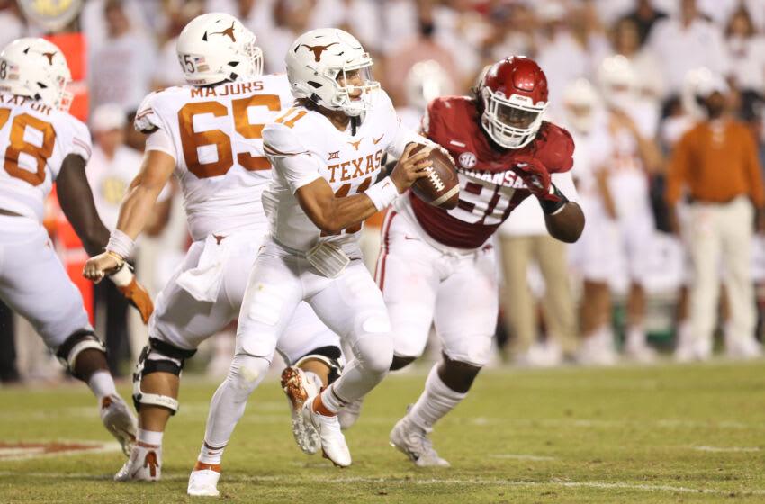 Casey Thompson, Texas Football Mandatory Credit: Nelson Chenault-USA TODAY Sports