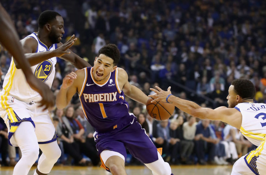 Devin Booker, Golden State Warriors (Photo by Ezra Shaw/Getty Images)
