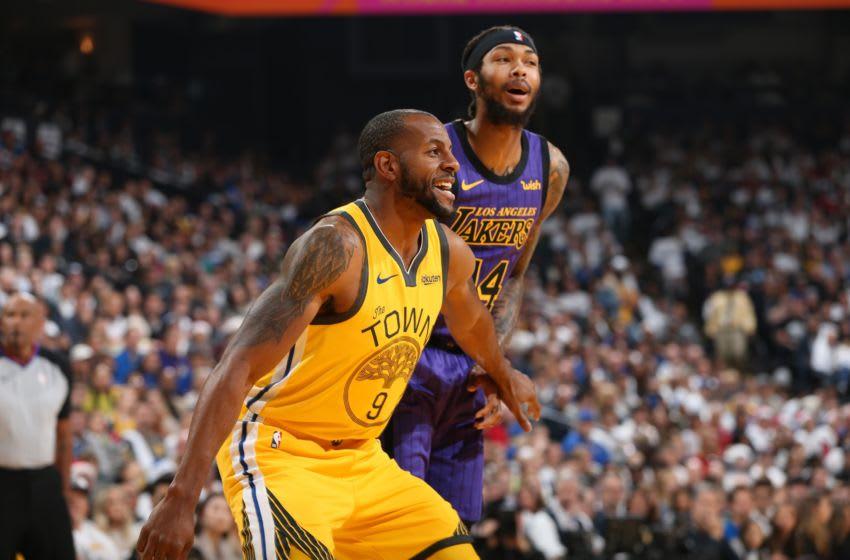 Los Angeles Lakers Andre Iguodala. Copyright 2018 NBAE (Photo by David Sherman/NBAE via Getty Images)