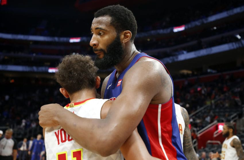 Detroit Pistons Andre Drummond. Copyright 2019 NBAE (Photo by Brian Sevald/NBAE via Getty Images)