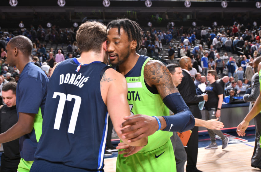Dallas Mavericks Robert Covington. Copyright 2019 NBAE (Photo by Glenn James/NBAE via Getty Images)