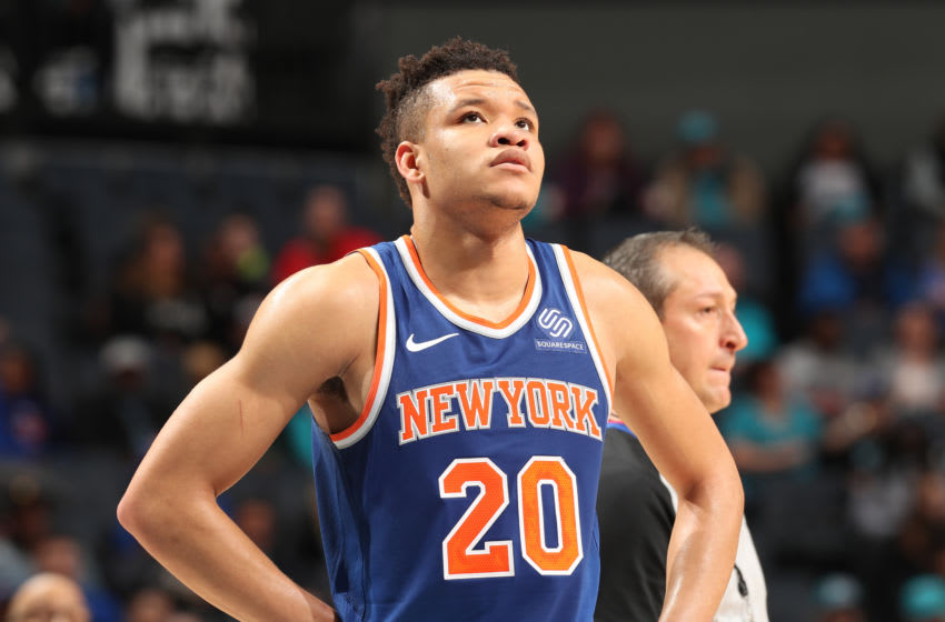 New York Knicks, Kevin Knox (Photo by Kent Smith/NBAE via Getty Images)