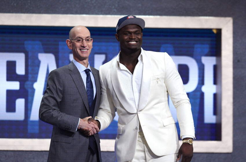 Zion Williamson, New Orleans Pelicans. Photo by Sarah Stier/Getty Images