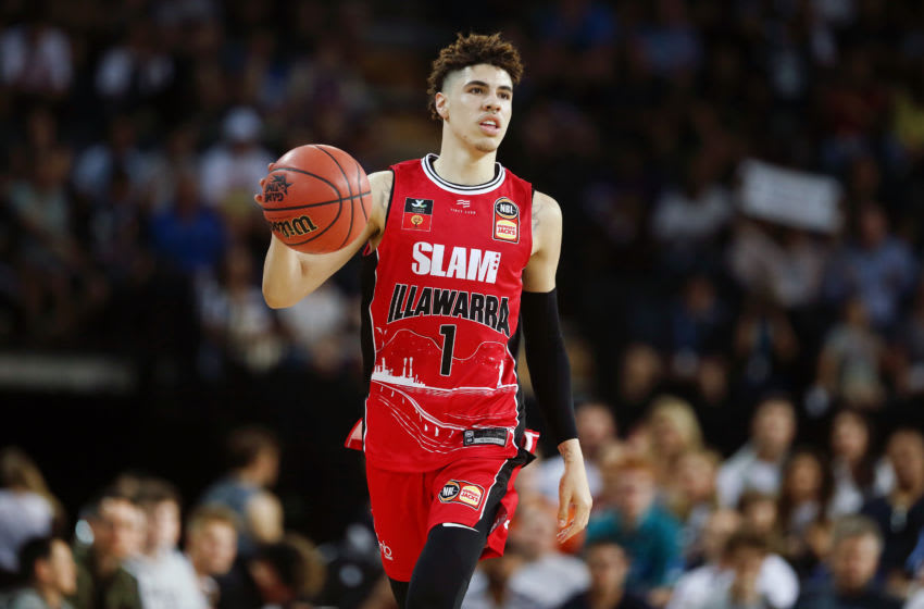 LaMelo Ball rookie card (Photo by Anthony Au-Yeung/Getty Images)